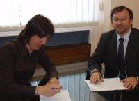 firma convenios ASES y UPTA