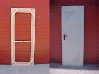 Innovación instalando puertas