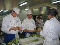 alumnos de cocina