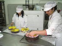 Alumnas en un centro sociolaboral