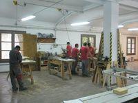Taller de carpinteria de la ET Azucarera