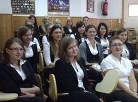 Grupo de estudiantes polacas Leonardo