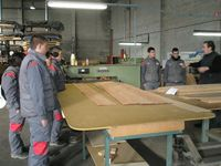 visita La Azucarera a empresa de maderas