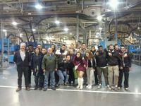 visita alumnos CSL Delicias a rotativa Heraldo de Aragón