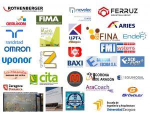Agradecimientos a entidades y empresas colaboradoras.