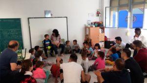 La Escuela Taller Zaragoza Verde II, fabrica los muebles para un aula de infantil del C.P. Ramiro Soláns