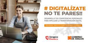 Nuevo programa formativo en competencias digitales #Digitalízate – no te pares!!