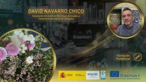 Reconocimiento a David Navarro Chico, estudiante de Zaragoza Dinámica